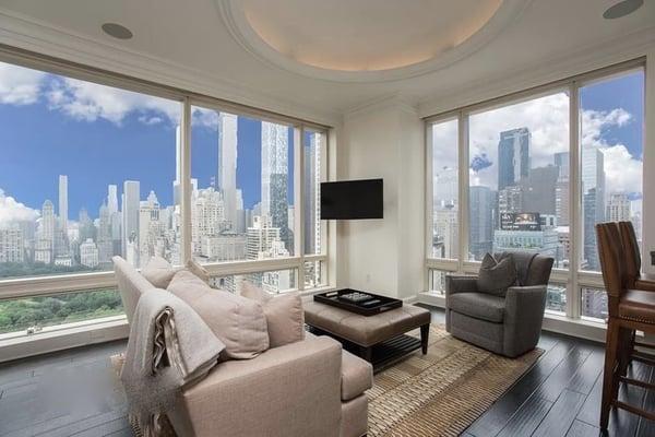 曼哈顿中央公园西1号的房产价格