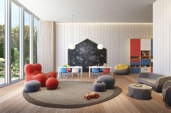 57 Ocean 迈阿密海滩儿童活动室