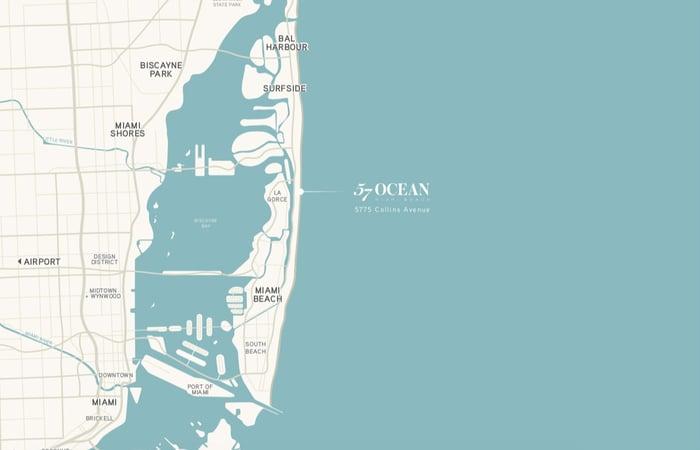 57 Ocean 迈阿密海滩公寓出售信息