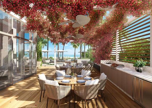 57 Ocean 迈阿密海滩烧烤区