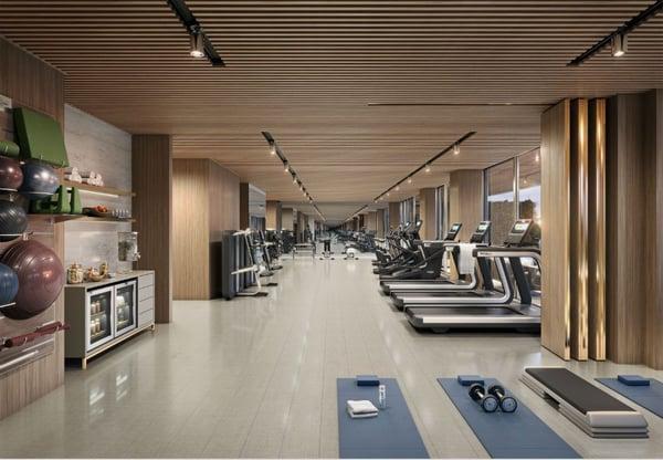 57 Ocean 迈阿密海滩健身房