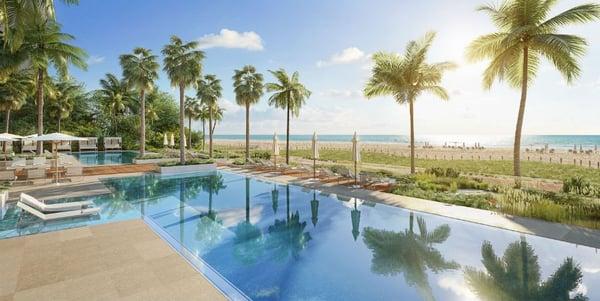 57 Ocean 迈阿密海滩泳池