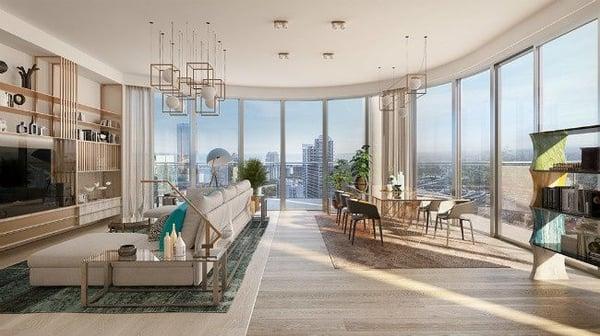 Flatiron Penthouse Miami公寓出售的Brickell