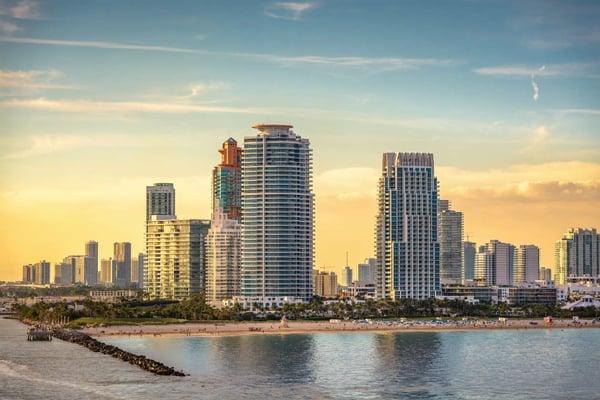 迈阿密海滩或房地产