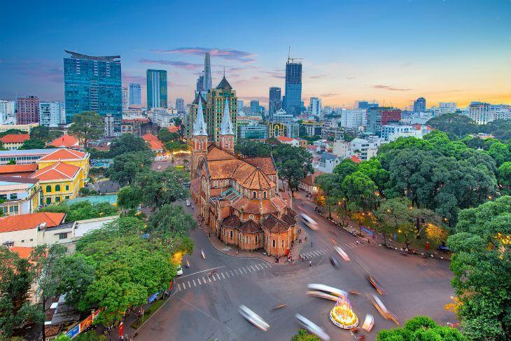西贡胡志明市