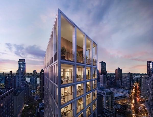 曼哈顿公寓出售 - 街道