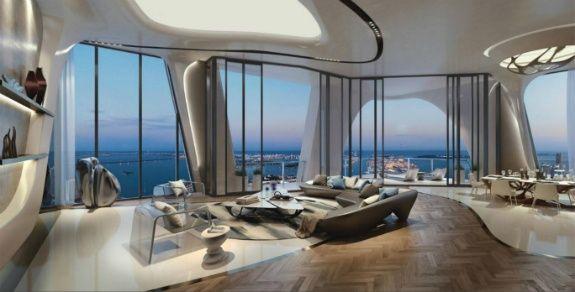 Zaha Hadid 迈阿密的豪华建筑