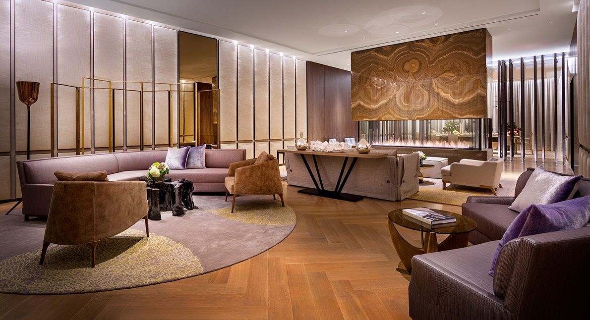 one madison 23东22纽约公寓 - 休息室